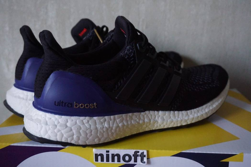 Adidas Adidas Ultra Boost 1.0 OG Core Black Purple B27171 Size US 8   EU 41 d9142f495