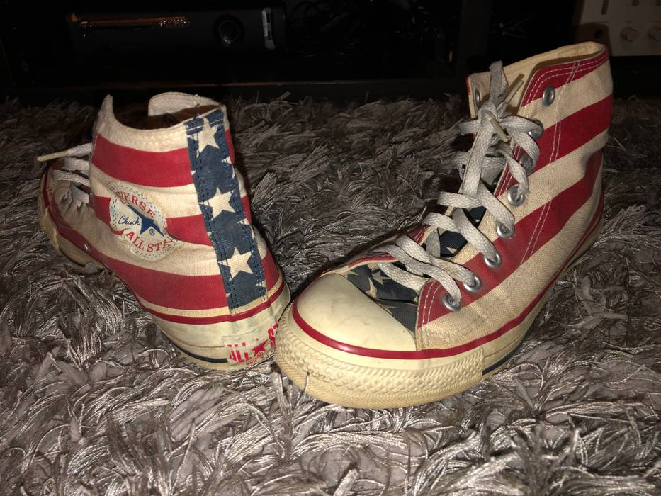 Converse Vintage Converse All Star Extra Stitch Shoes USA Sz.7 Men ... 105742b6f