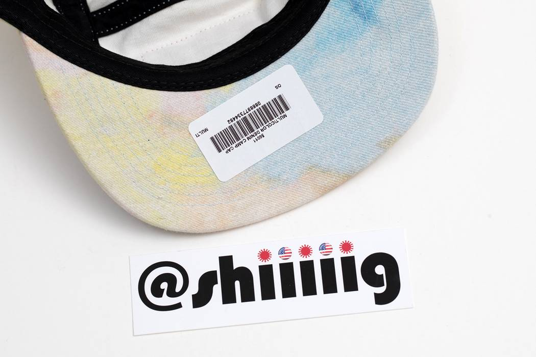 0a6ca0ad64c Supreme Multicolor Denim Camp Cap Size one size - Hats for Sale ...