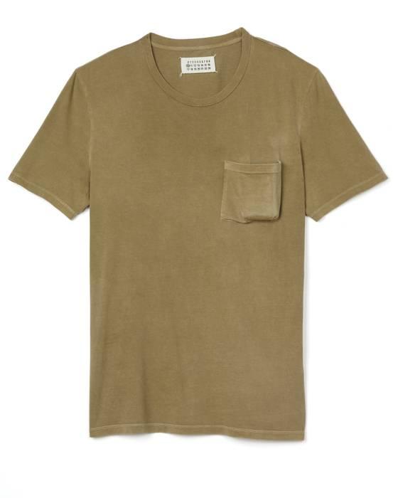 85a3a000938c Maison Margiela Military Green Cigarette Pocket T-Shirt Size m ...
