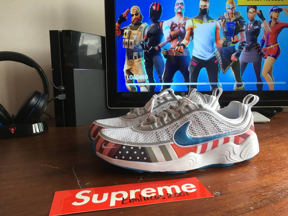 9c9f254a0c210f Nike Nike x Parra Air Zoom Spiridon Size 10 - Low-Top Sneakers for ...