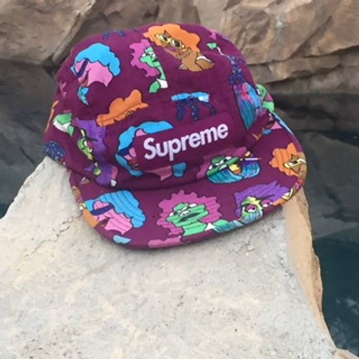 0f5bce45b71 Supreme Supreme Gonz Heads Camp Cap Purple Size one size - Hats for ...