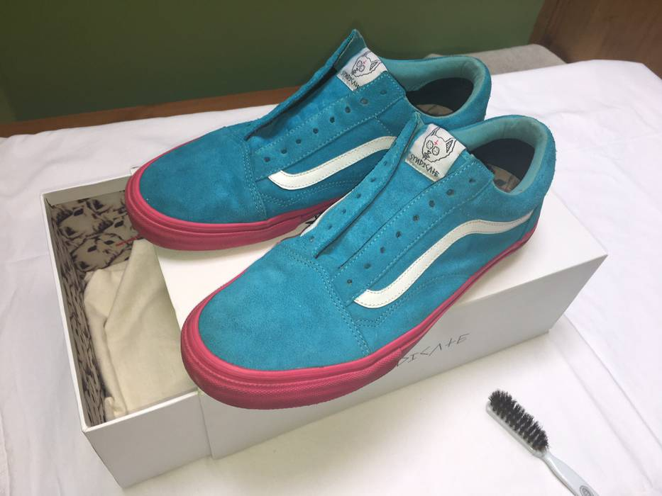 ded6b8f4e30a52 Vans Golf Wang Syndicate Old Skool Blue pink Size 11 - Low-Top ...