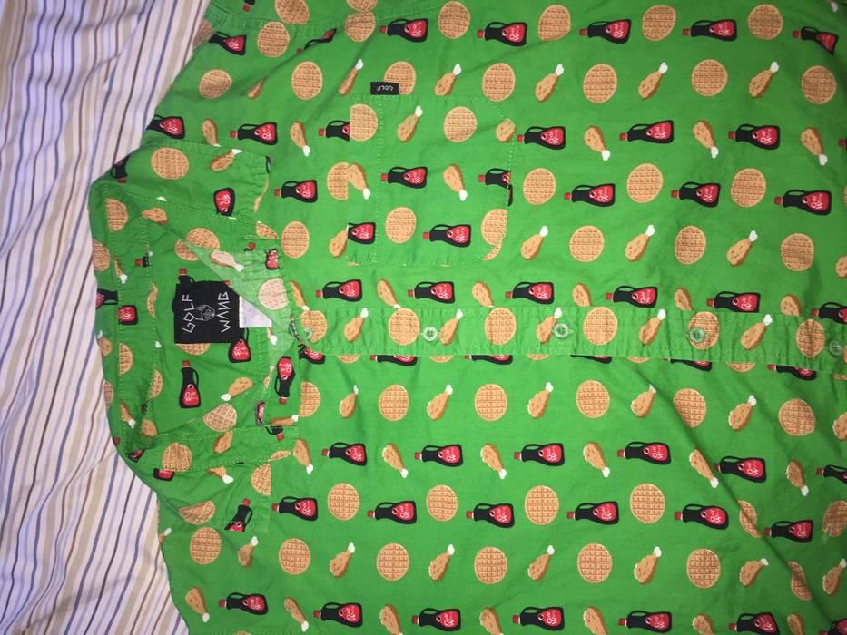 9d7bd71751257e Odd Future Golf Wang Chicken and Waffles Button Up Size l - Shirts ...