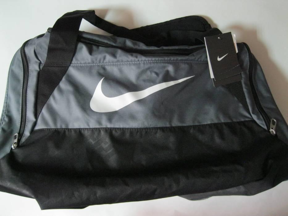 Nike Brasilia 6 Medium Training Duffel Bag Gray Size one size - Bags ... 792b1b6a51799