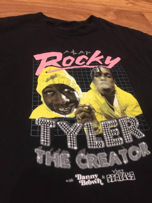 ce715f534674 Golf Wang Tyler The Creator X ASAP ROCKY Tour Shirt Size m - Short ...