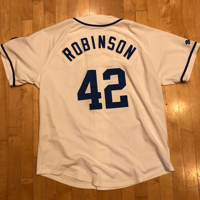 Nike Nike Jackie Robinson Brooklyn Dodgers Vintage Cooperstown Collection  Vintage Baseball Jersey Size US XL   8f83a2640a9