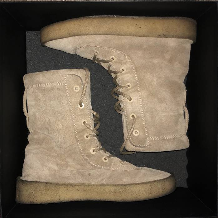 51639476adccc Yeezy Season Season 2 Crepe Boots Size 11 - Boots for Sale - Grailed