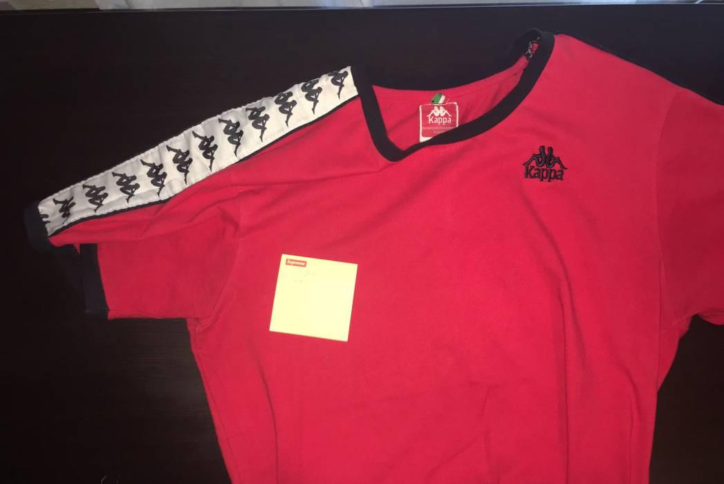 Kappa Kappa Red Tee kappa Logo Tape Sleeve Size m - Long Sleeve T ... 0f13b0192
