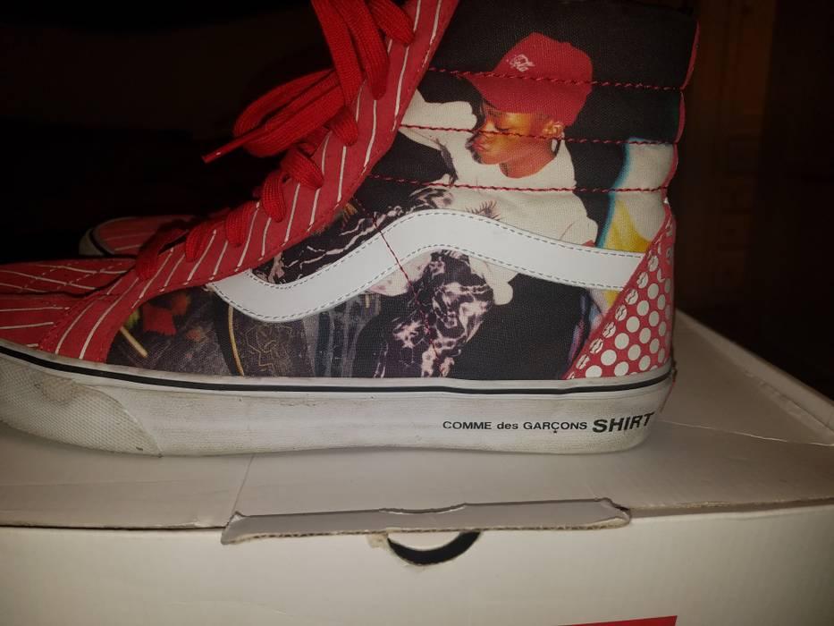 9f7aec4f99 Supreme Supreme CDG Harold Hunter Vans Sk8-Hi Red Size 11.5 - Hi-Top ...