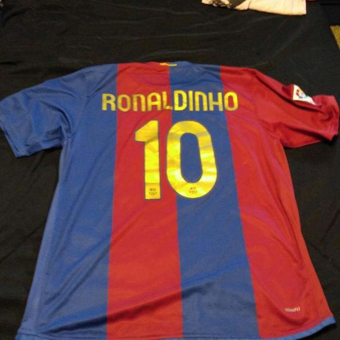 f46e962d9 Nike Ronaldinho FC Barcelona Nike jersey Size xl - Jerseys for Sale ...
