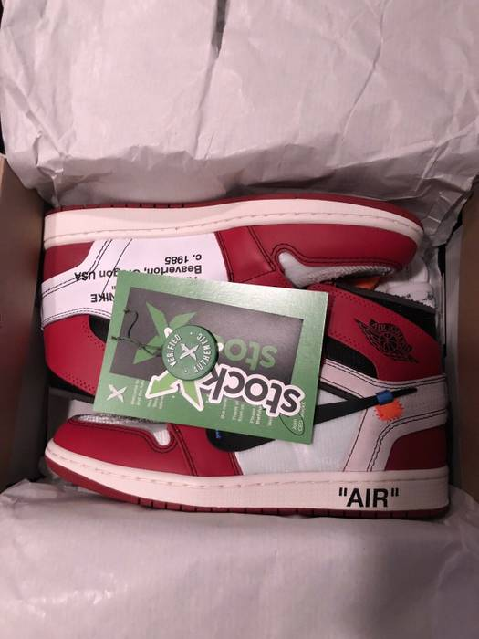 Nike Air jordan 1 Off White Chicago StockX Size 10 - Hi-Top Sneakers ... ad759a573