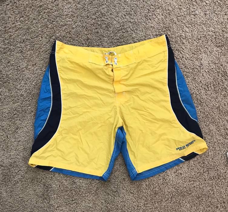 72b31c29da7 ... aliexpress polo ralph lauren. mens yellow and blue polo ralph lauren  swim trunks d80e1 845b7