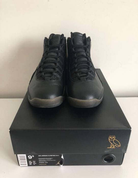 b6dbb0afb55c Nike Air Jordan 10 OVO Size 9.5 - Hi-Top Sneakers for Sale - Grailed