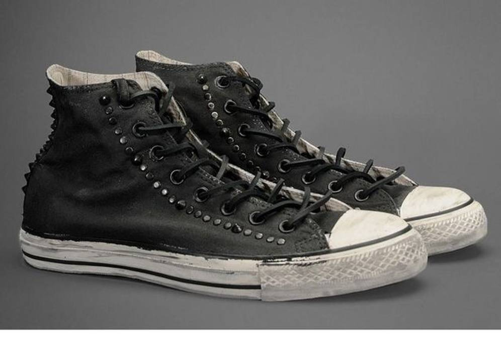 Converse Converse Chuck Taylor All Star x John Varvatos Black Studded High  Top Sneakers Size US f6c00a9197