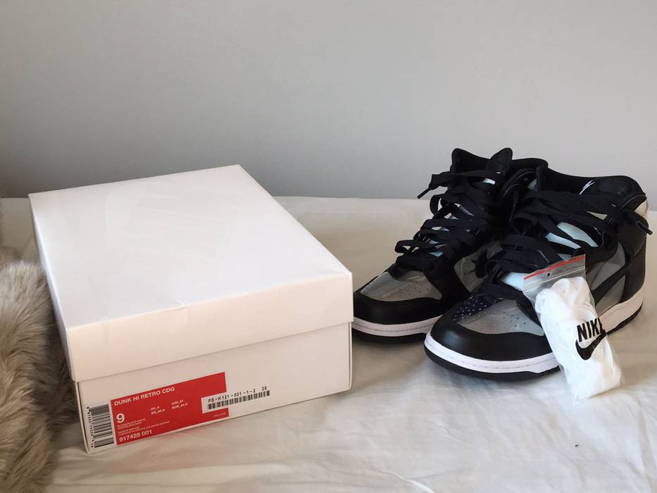 d3e86f0241ac Nike Dunk Hi Retro CDG Jordan 1 Size 9 - Hi-Top Sneakers for Sale ...