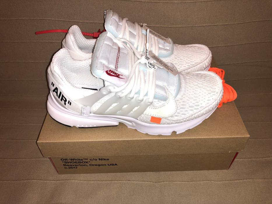 c9588a4967a Nike NIKE AIR PRESTO OFF-WHITE White Size 9 - Low-Top Sneakers for ...