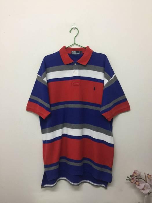 6df3164c5c4 Polo Ralph Lauren Vintage Polo Ralph Lauren Striped Colourful Polo Shirt  Size US XL   EU