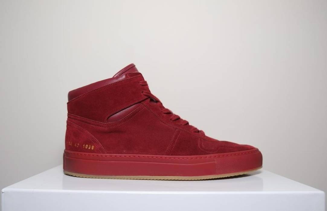 018f86f29e84 Common Projects Common Projects - Bball High Red - 1784 - BRAND NEW Size US  9