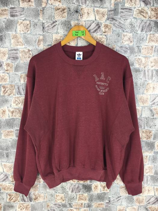 Adidas ADIDAS Athletic Club Pullover Jumper Large Vintage 90s Adidas ... d099a1d7faee