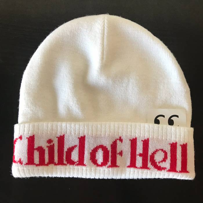 Supreme Supreme Child Of Hell Beanie Ian Connor 2014 Rare White Box ... 76ac3f1973c