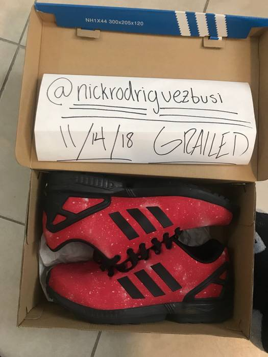 b60c2fd3efc6 Adidas Adidas ZX FLUX  Red Space  Size 9 - Low-Top Sneakers for Sale ...