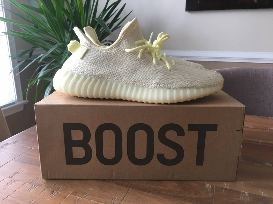 1cee6c5b2 Adidas Size 12 adidas Yeezy Boost 350 V2 Butter Size 12 - Low-Top ...