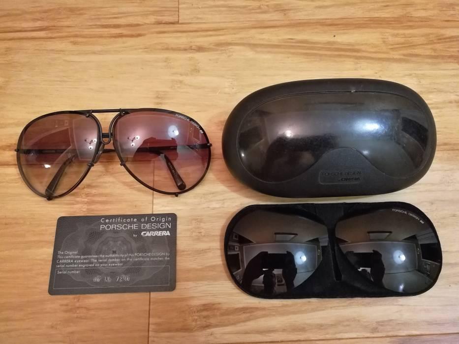 61f4f378721 Porsche Design 1988 5621 90 vintage matte black aviator sunglasses Size ONE  SIZE