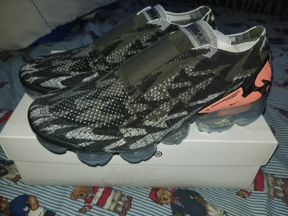 wholesale dealer bfdf7 1d767 Nike Nike X Acronym Air Vapormax FK Moc 2 Sail Dark Stucco Size US 9