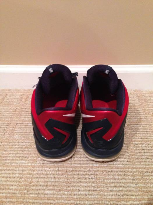 22158d543c1 Nike Lebron 11 Low Independence Day 642849 614 Size 11 Size US 11   EU 44