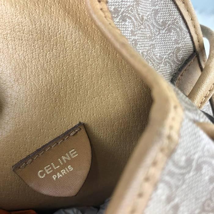Celine RARE   COLLECTION Authentic Celine MacDam Monogram Crossbody Bag    Celine MacDam Bag   Vintage c52ad40dccf4d