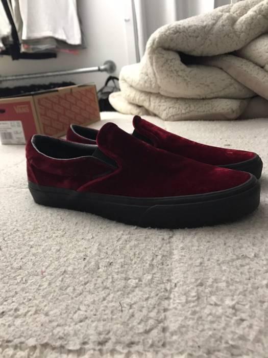 3588e8e52e Vans Vans Velvet Classic Slip Ons (Ox Blood) Size 9 - Slip Ons for ...