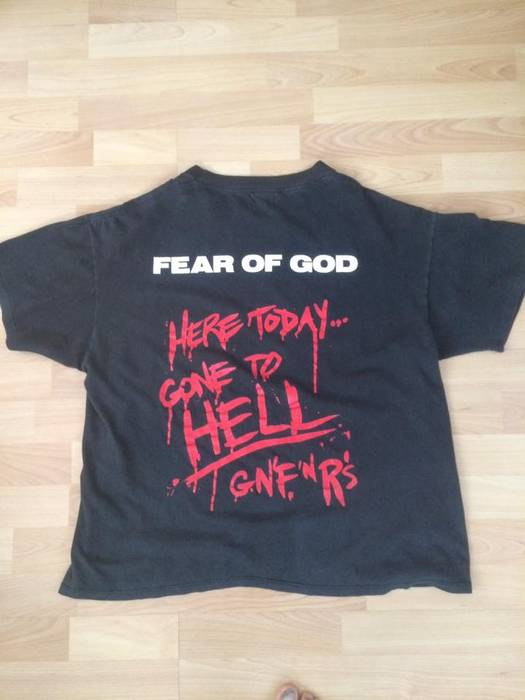 9fe5217195e8 Fear of God Guns n  Roses Resurrected Tee Third Collection Size US M   EU