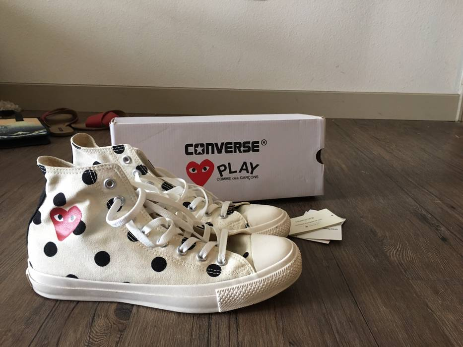 b117077d50b Converse Japan Exclusive CDG PLAY X Converse Size US 9.5   EU 42-43