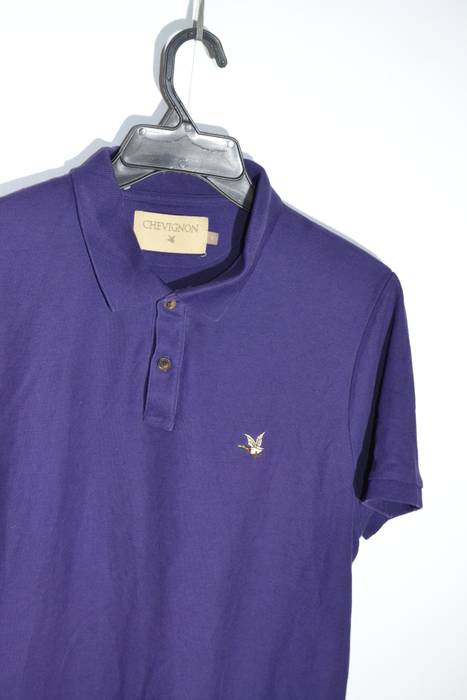 Chevignon Chevignon L Size Purple Duck Logo Polo Shirt Size L