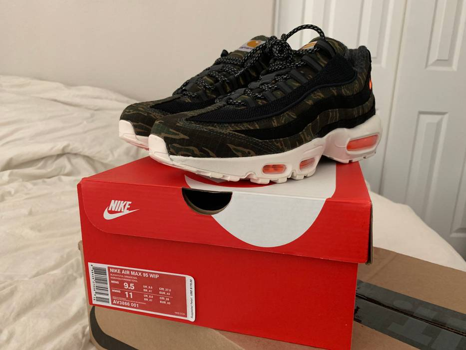 Nike Nike Carhartt WIP Air Max 95 Size 9.5 - Low-Top Sneakers for ... 1ea9e7633