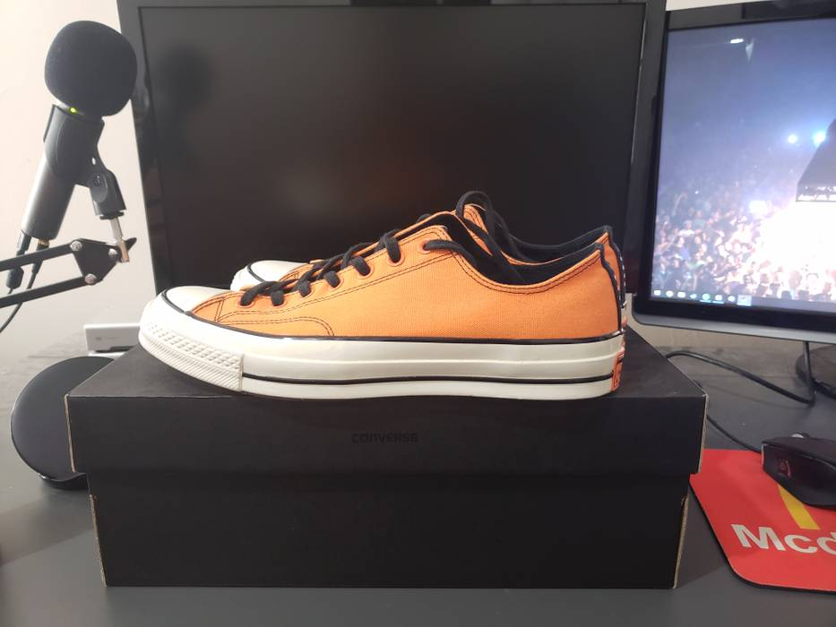 652077efe525 Converse Converse Chuck Taylor All-Star 70s Ox Vince Staples Orange Size US  10