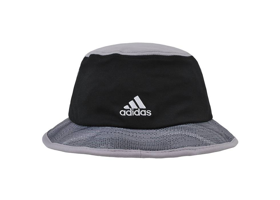 Adidas. ADIDAS NBA San Antonio Spurs Black Gray Charcoal Bucket Hat ... d14b80f9e9c