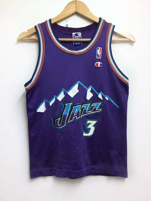 Vintage ❗️LAST DROP❗️Vintage Champion NBA Jerseys Jazz Russell ... 5b5b04d06
