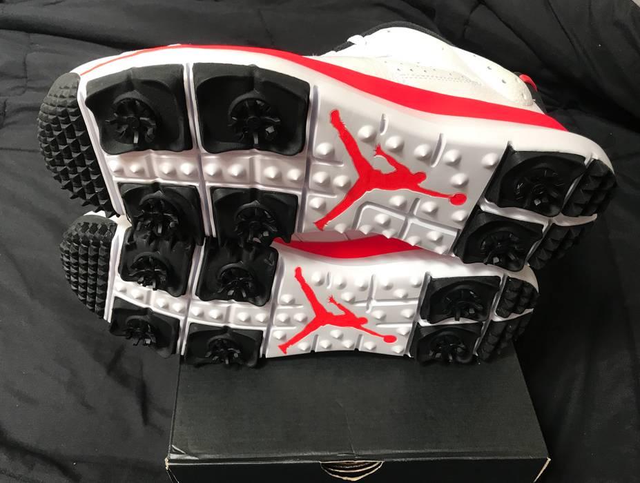 b3a549719d55cd Jordan Brand Nike Air Jordan VI 6 Retro Golf Infrared Mens Size 14 shoes  NEW Rare
