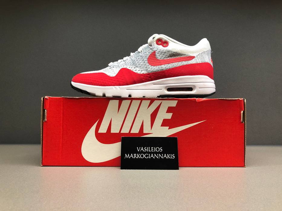 Nike Nike air max 1 ultra flyknit university red w Size 7 - Low-Top ... 85d6bda93
