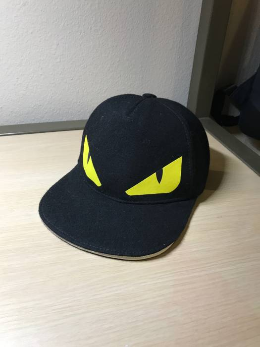 c4a7b834def Fendi Monster Mouth Cap (Kids) Size one size - Hats for Sale - Grailed