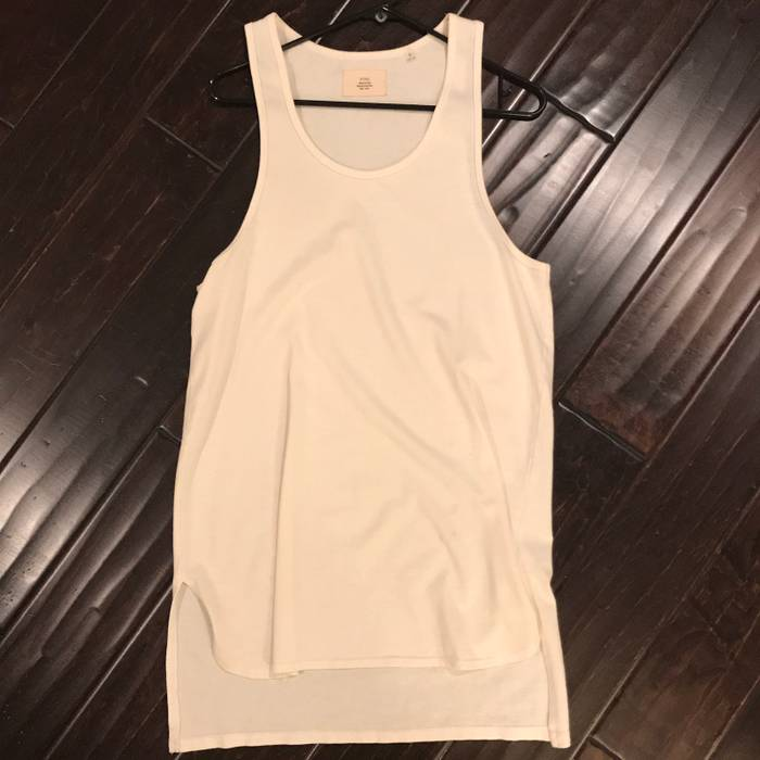 6b2b969ac16936 Pacsun Fog Pacsun Fear Of God Collection 2 White Tank Top Size US S   EU