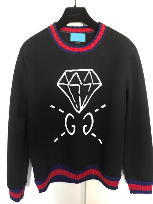 1b14f2f6af5 Gucci Sweatshirt Diamond Size xxl - Sweatshirts   Hoodies for Sale ...