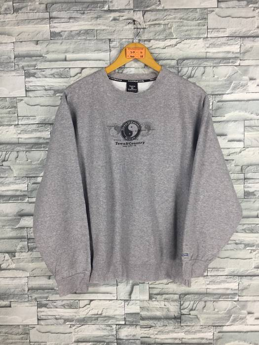 3c4ce28f2960c Vintage. T C Surf Design Men Medium Jumper Gray Crewneck Vintage 90 s ...