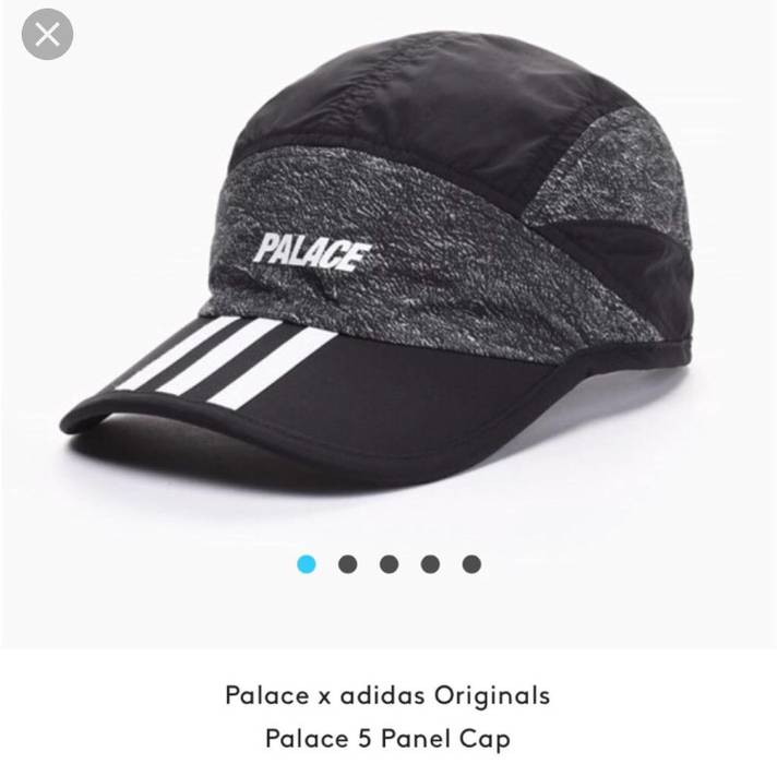 Adidas Adidas Originals X Palace Skateboards 5 Panel Hat   Cap Size ONE SIZE 39a725ab410