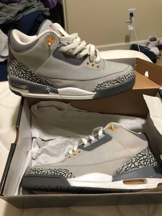 Jordan Brand 2007 Cool Grey 3s Size 9.5 - Hi-Top Sneakers for Sale ... 53e342dfa