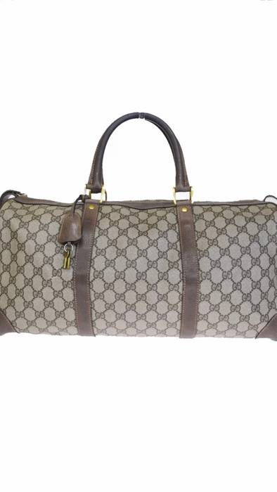 ec5a234b2bf7 Gucci [STEAL!] Gucci Duffle Bag Travel Keepall Bag Size one size ...