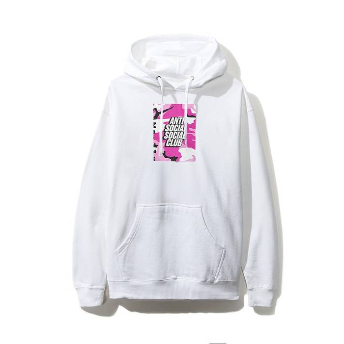 2ff943be2665 Antisocial Social Club. Pink Box Logo Hoodie. Size  US L   EU 52-54 ...