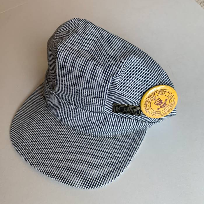 Vintage Train Conductors Hat W puns Size one size - Hats for Sale ... 3fc560482be2